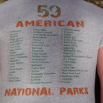 59 American National Parks Quest - Back